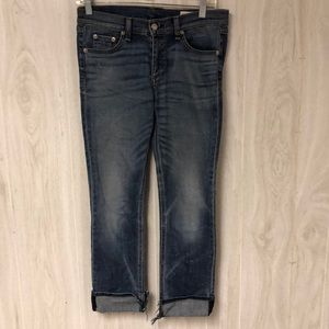 Rag and bone crop jeans size 27